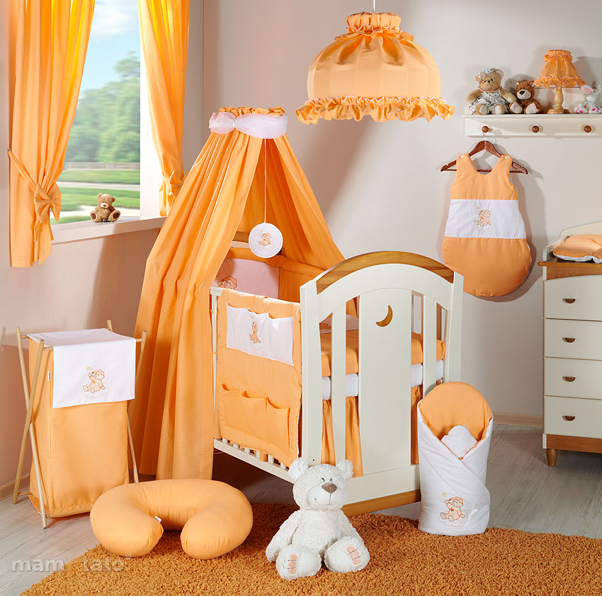 baby bettw sche bettset stickerei b 7tlg f r kinderbett 70x140 vollstoffhimmel ebay. Black Bedroom Furniture Sets. Home Design Ideas